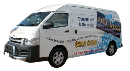 Van used for carpet cleaning in Canberra